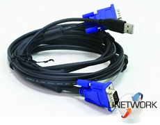 Кабель 2 in 1 USB KVM Cable in 3m (10ft)